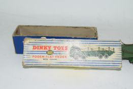 Dinky Supertoys Foden flat truck with chains, No 905