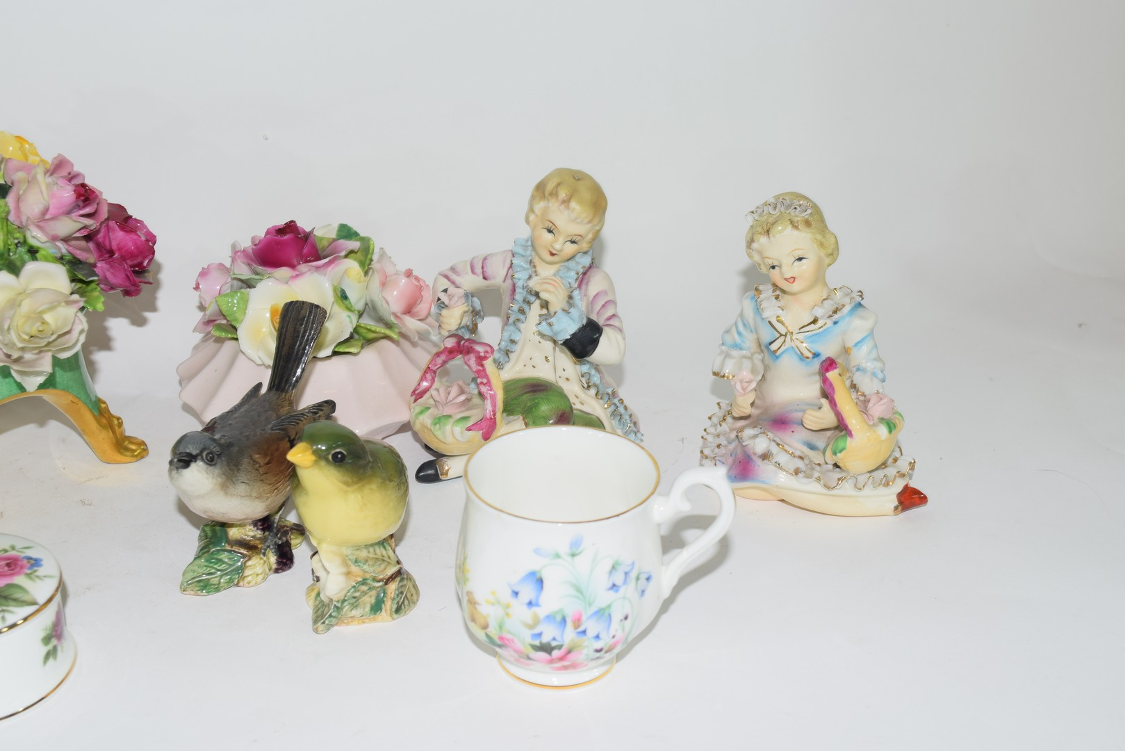 Group of English pottery and porcelain wares - Image 3 of 5