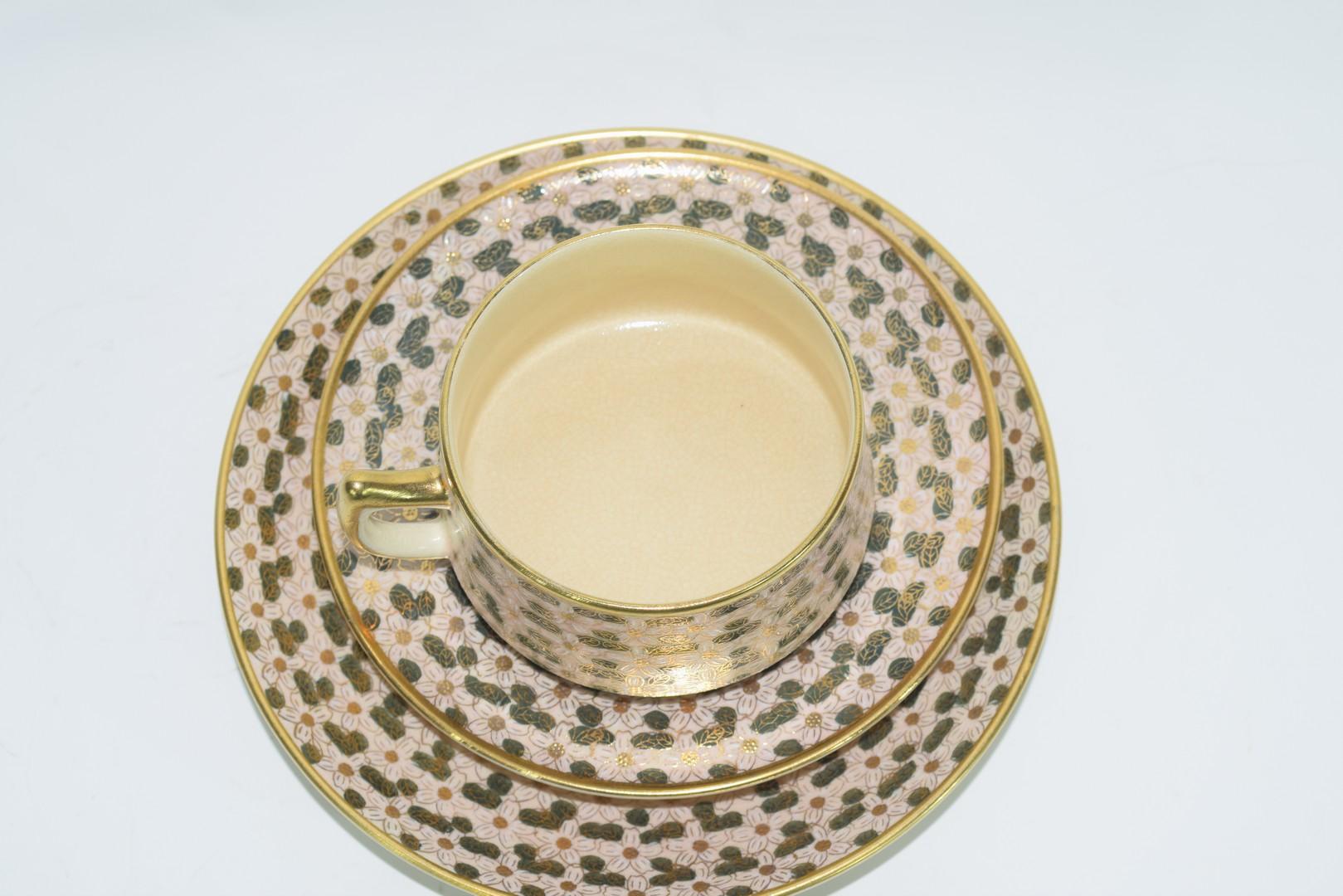 Twelve piece Satsuma tea set - Image 3 of 7