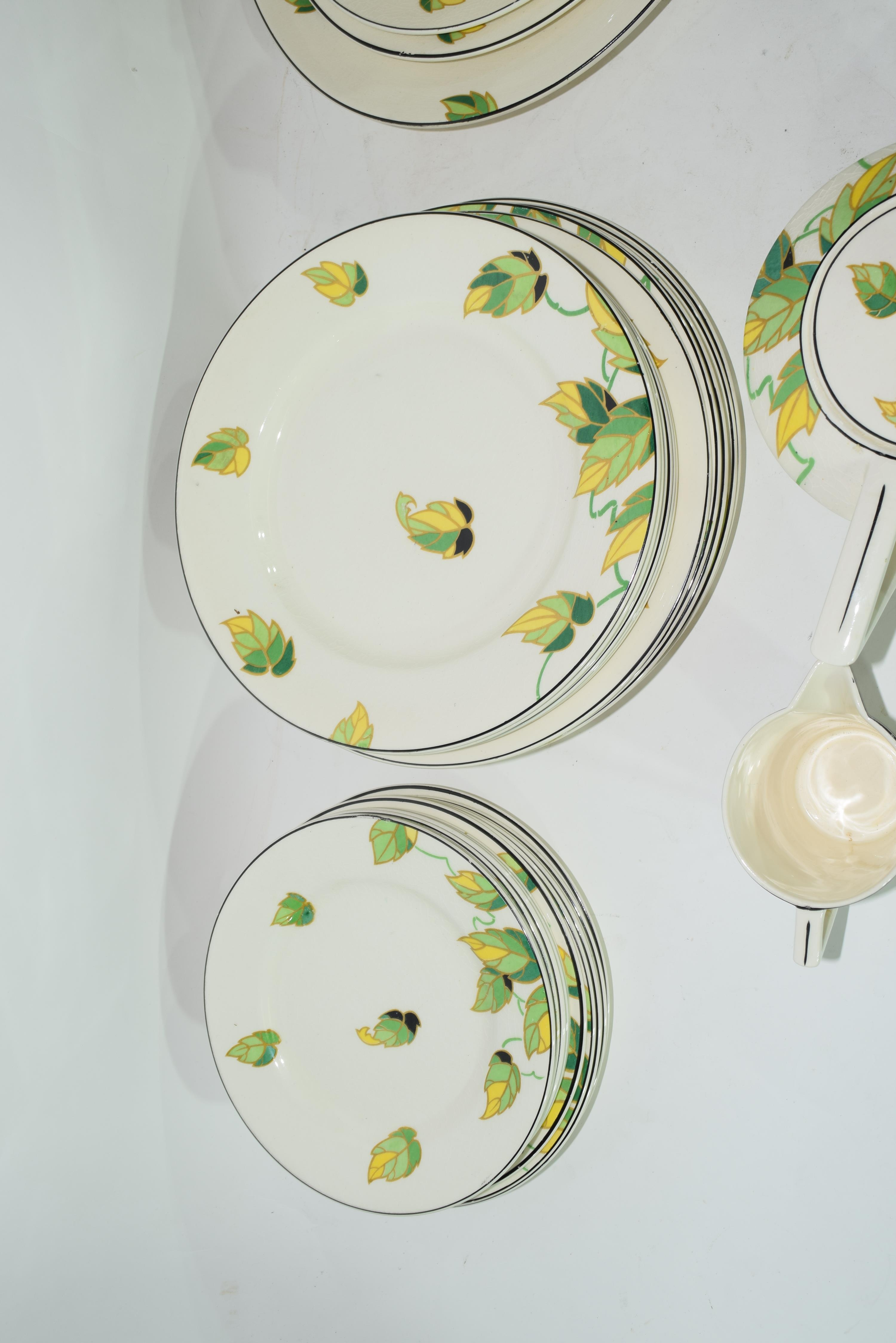 Quantity of Wedgwood dinner wares in Art Deco style - Image 7 of 7