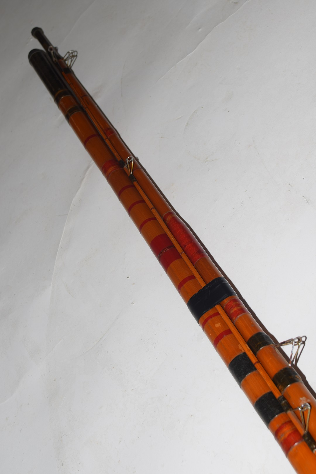 Vintage three-piece cane fishing rod - Image 4 of 4