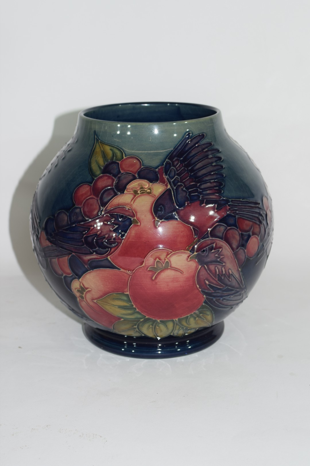Modern Moorcroft vase - Image 4 of 7