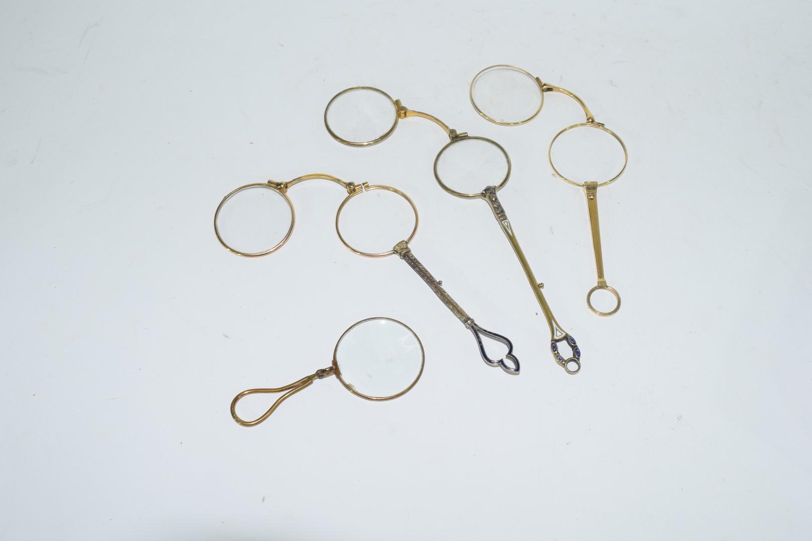 Quantity of 19th century spectacles