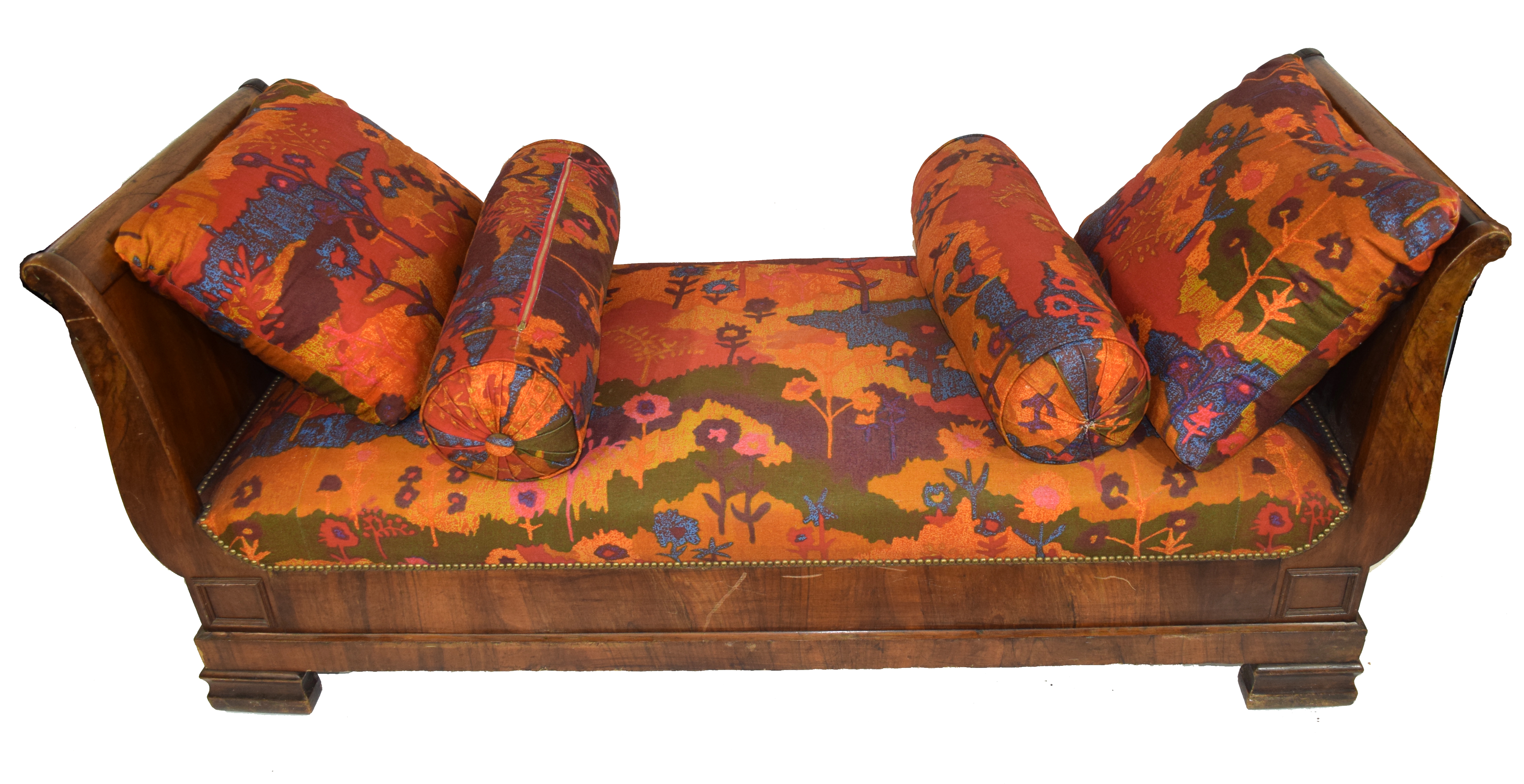 Late 19th century Continental side chair or chaise longue - Image 3 of 3