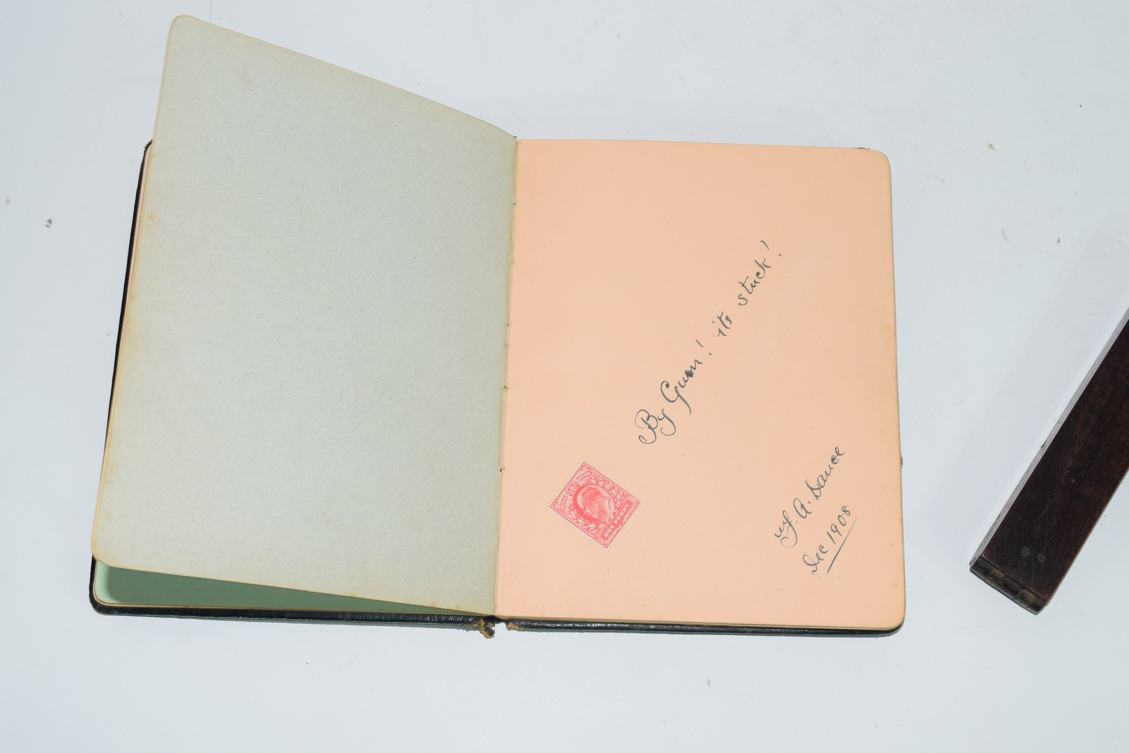 Early 20th century autograph book - Image 4 of 8