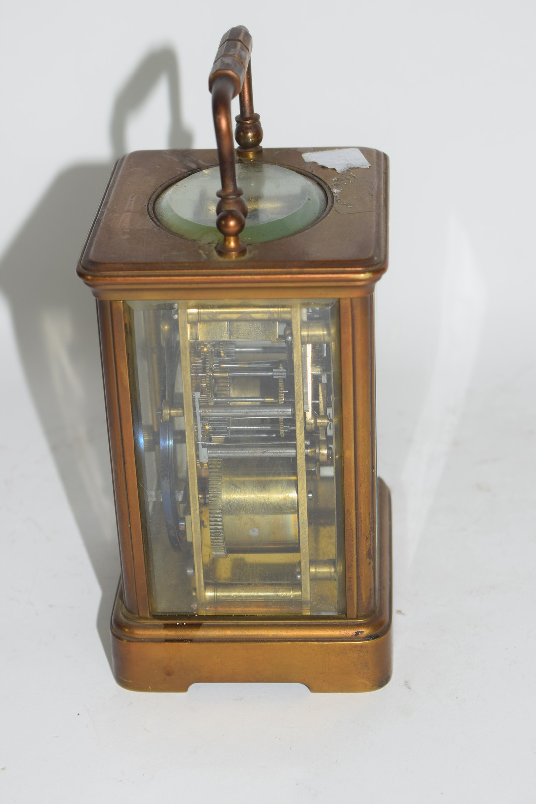 Brass carriage clock - Image 4 of 5