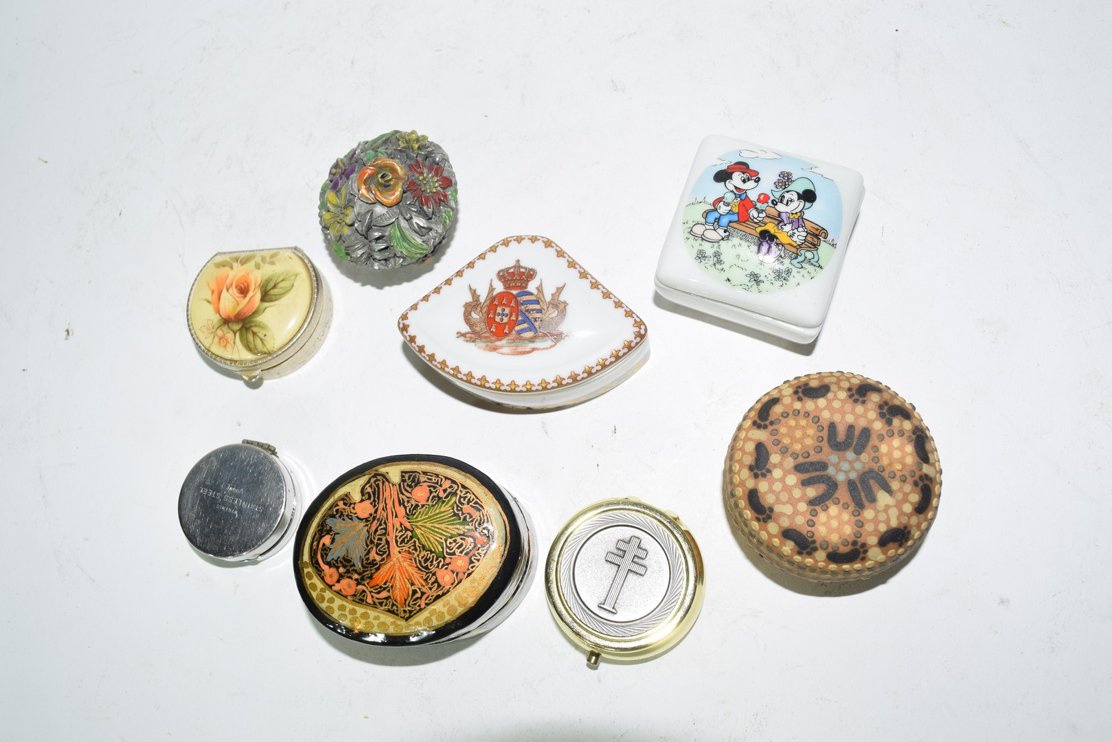 Mixed lot of small pill boxes and trinket boxes - Image 2 of 5