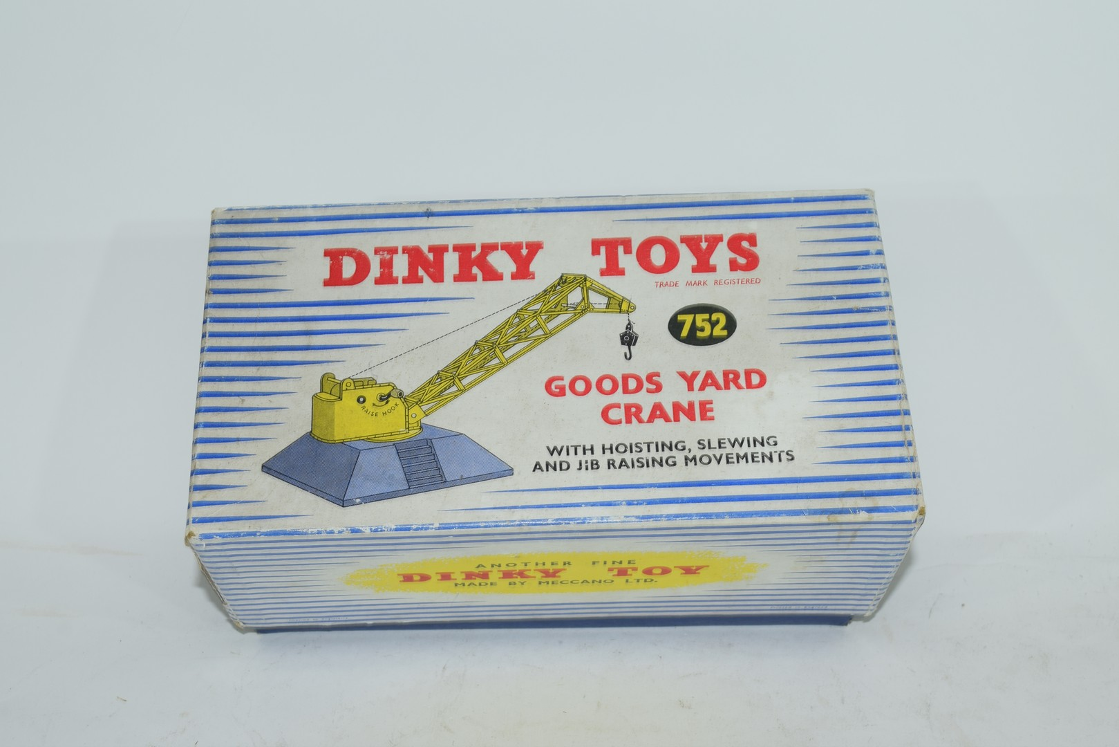 Dinky Goods yard crane No 752 in original box