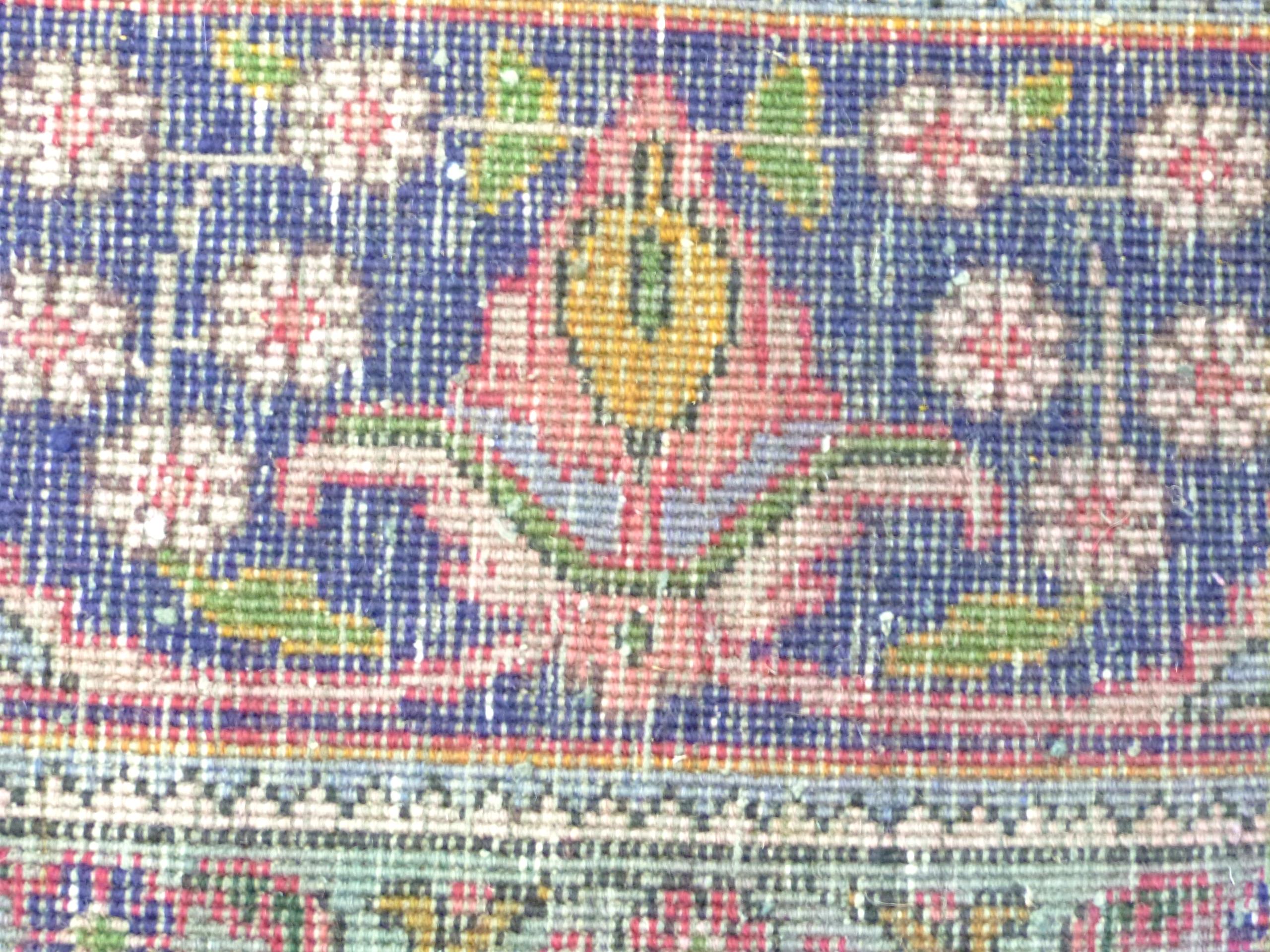 Deep ground thick pile Persian Narouan Carpet,decorated with various motifs & symbols 276cm x - Image 9 of 9