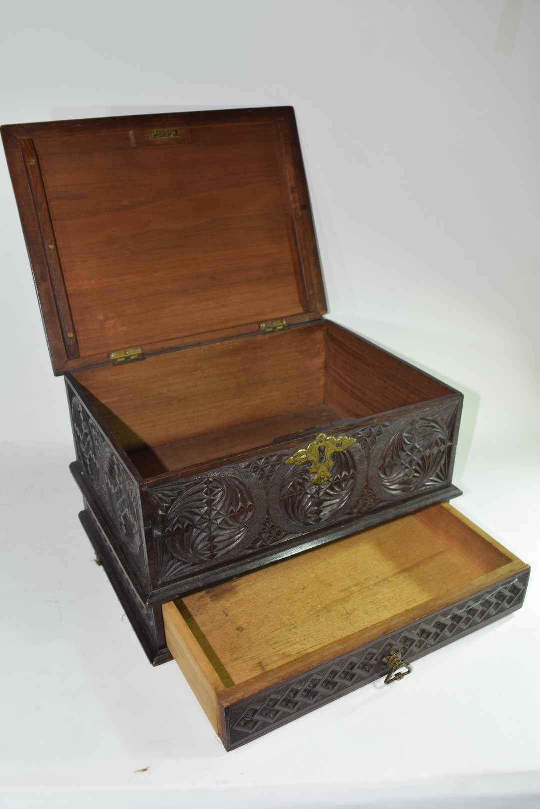Late 19th/early 20th century Far Eastern table top box