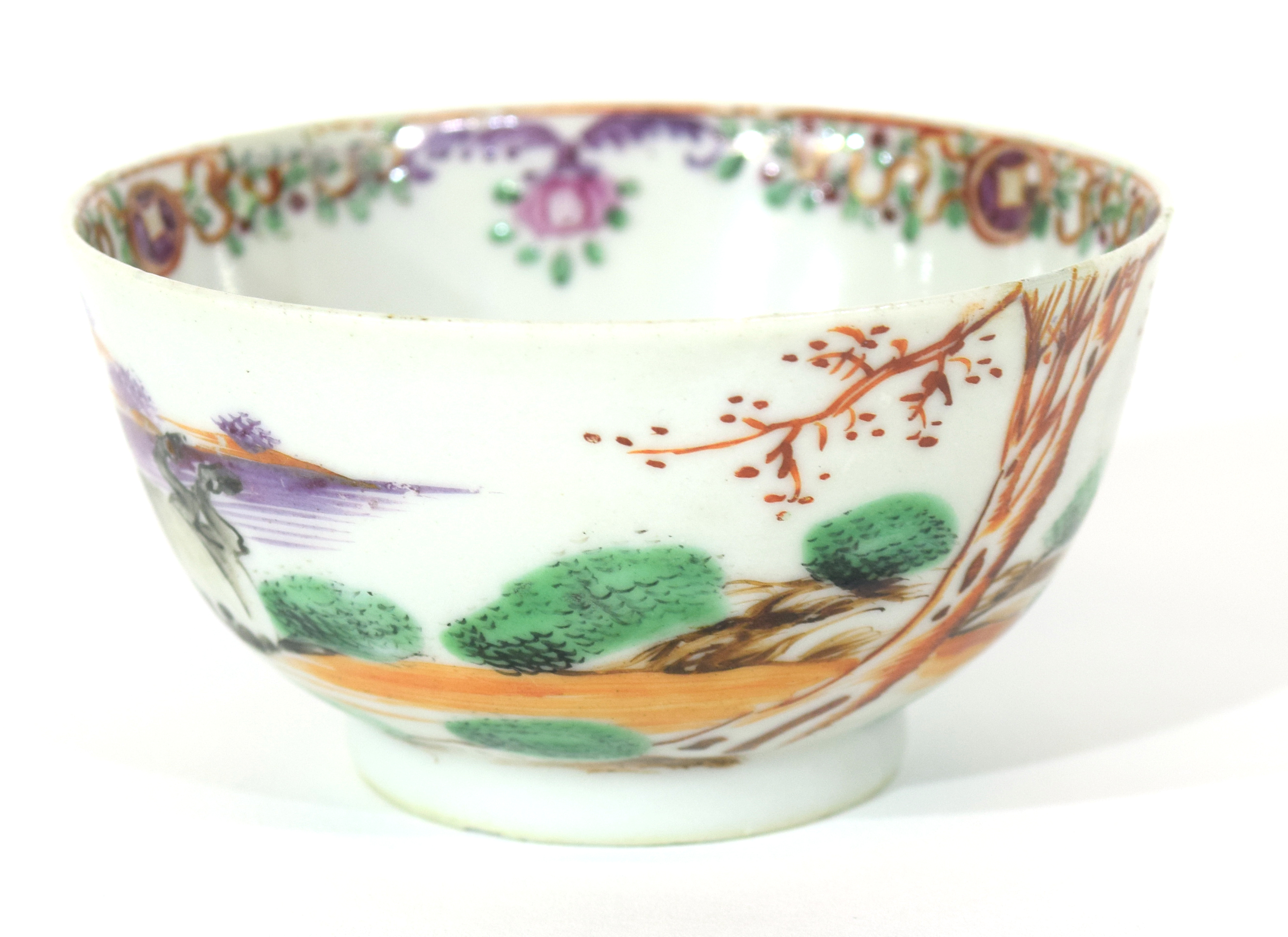Small Chinese bowl, 18th century - Image 5 of 13