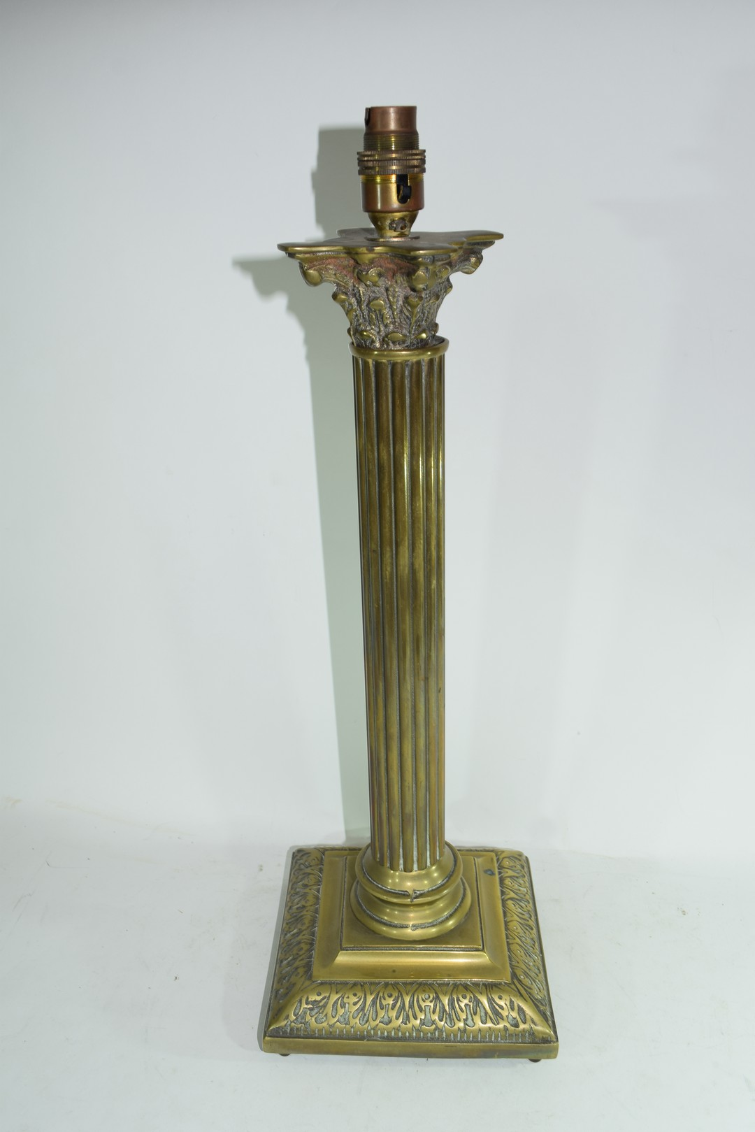 Brass table lamp - Image 2 of 4
