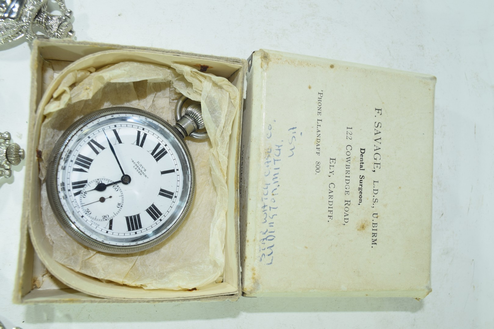 Cays screwback lever pocket watch - Image 2 of 4
