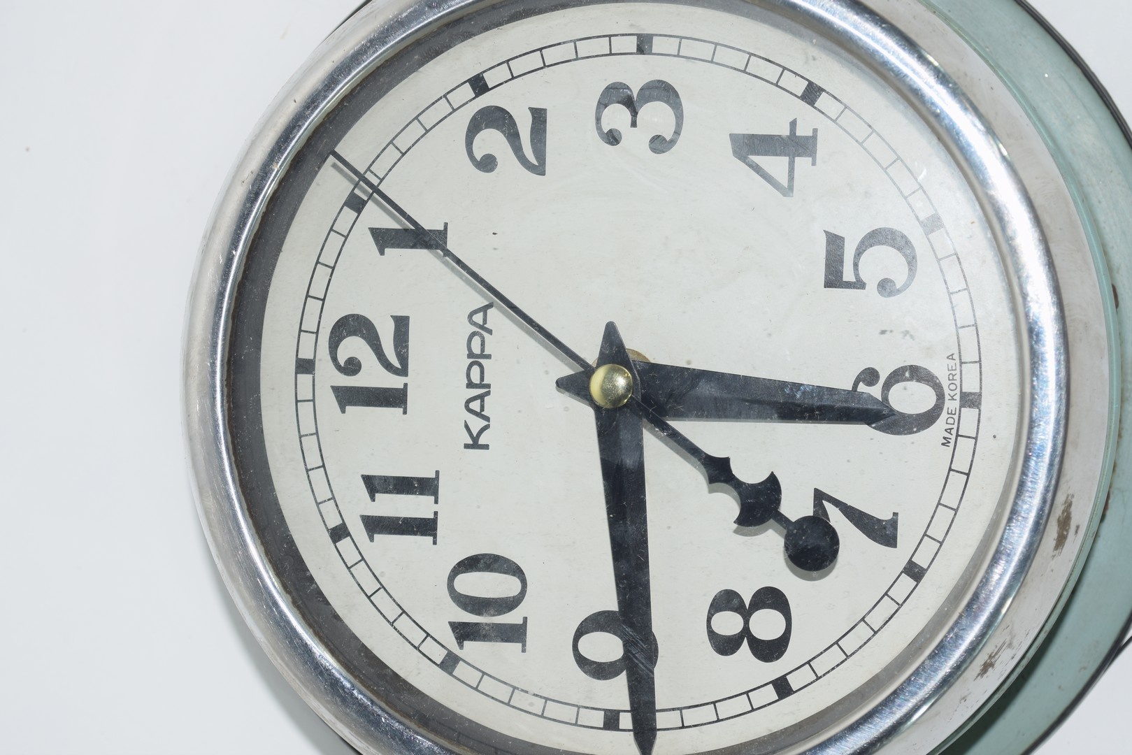 Large ship's clock - Image 3 of 5