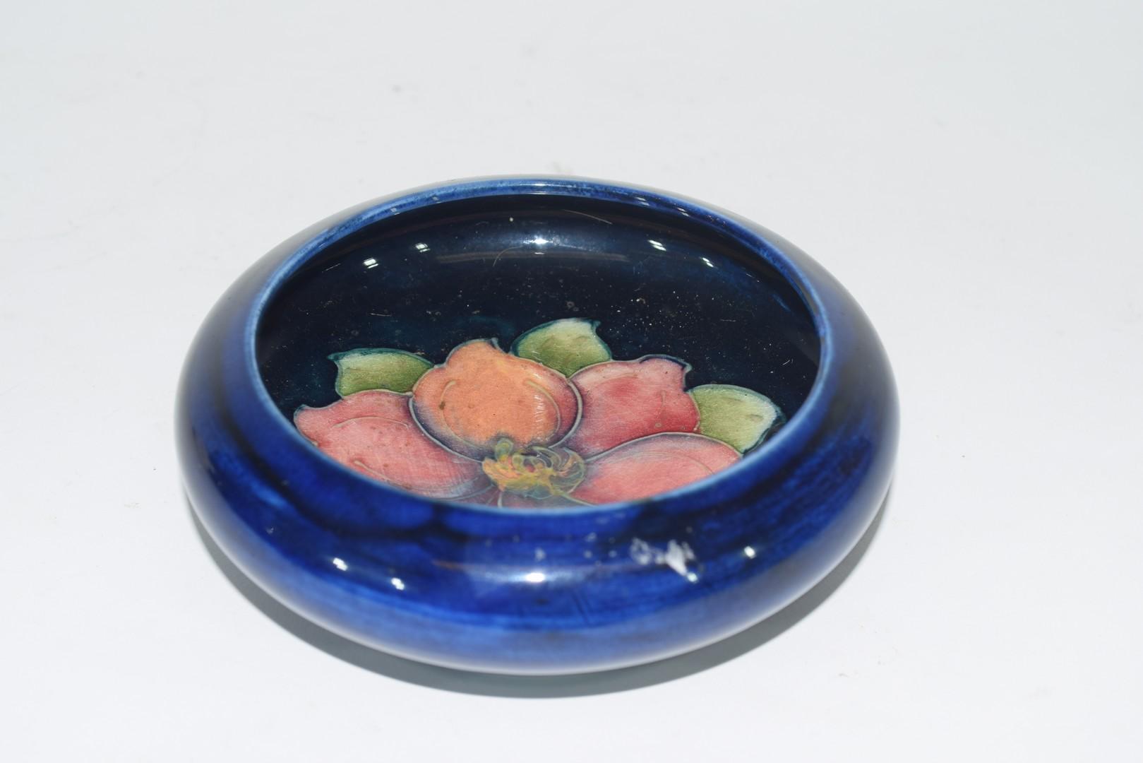 Small Moorcroft pin dish