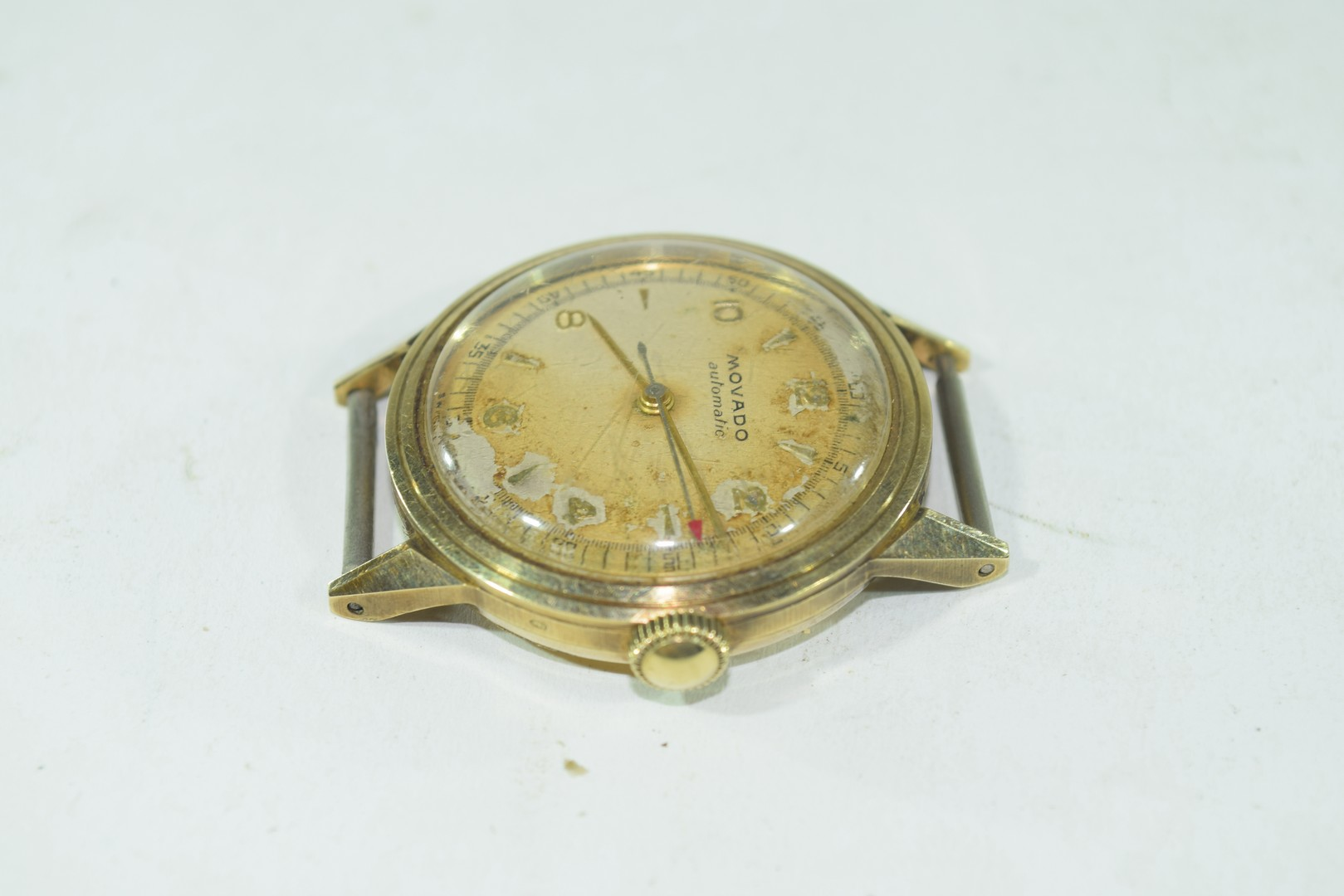 Movado gents yellow metal automatic wrist watch - Image 4 of 4