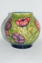 Globular Moorcroft vase