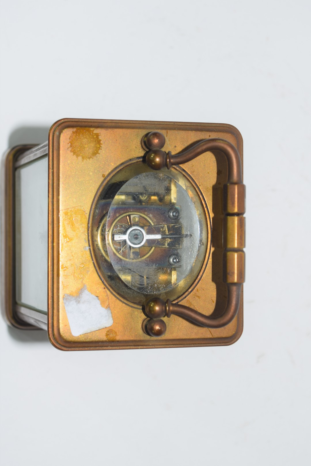 Brass carriage clock - Image 5 of 5
