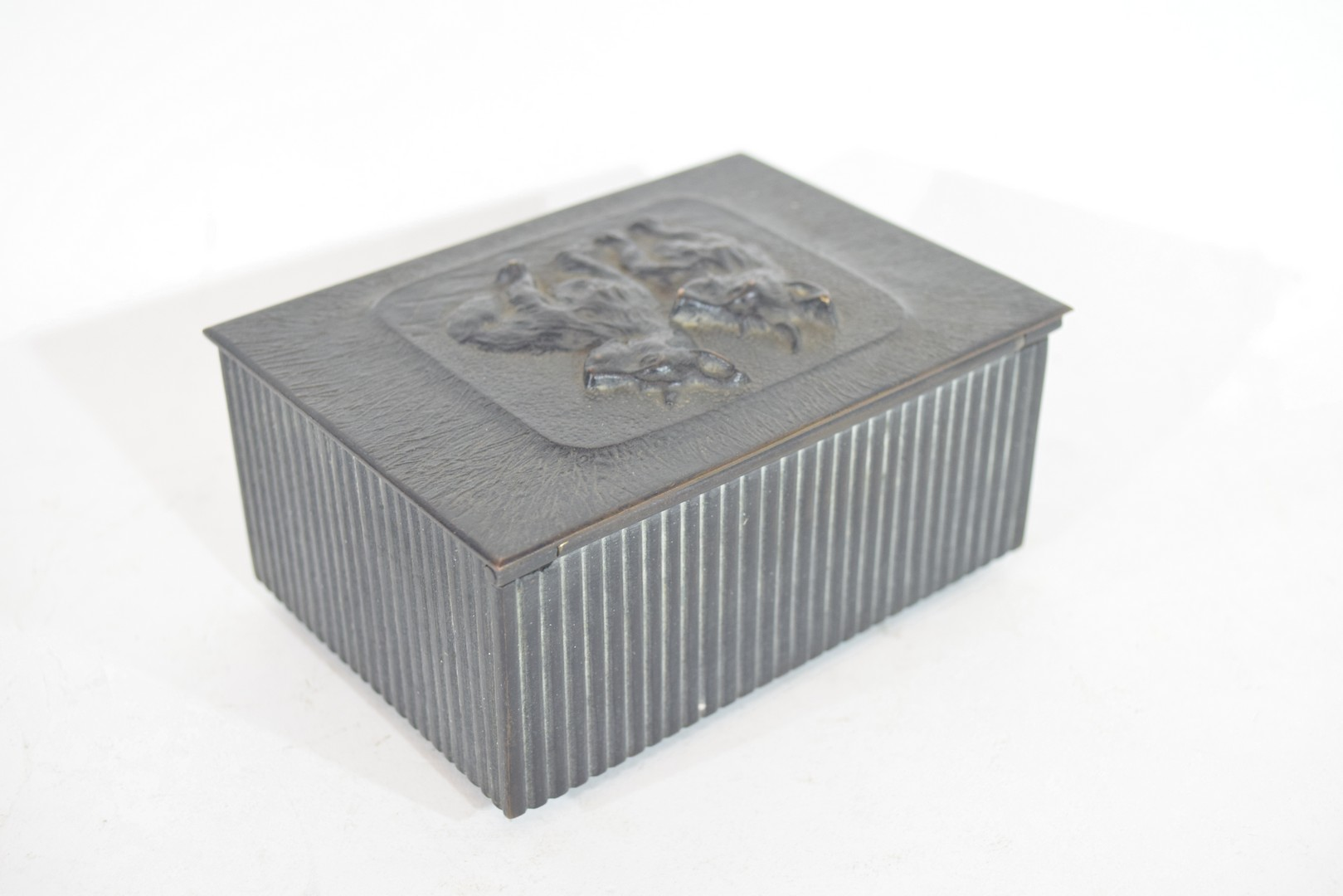 Box, the top modelled with two Corgi style dogs - Image 3 of 6
