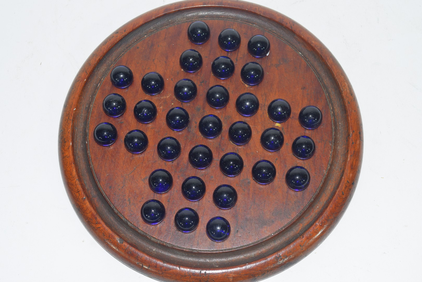Solitaire Board & Marbles - Image 3 of 3