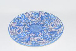 Crown Ducal charger by Charlotte Rhead