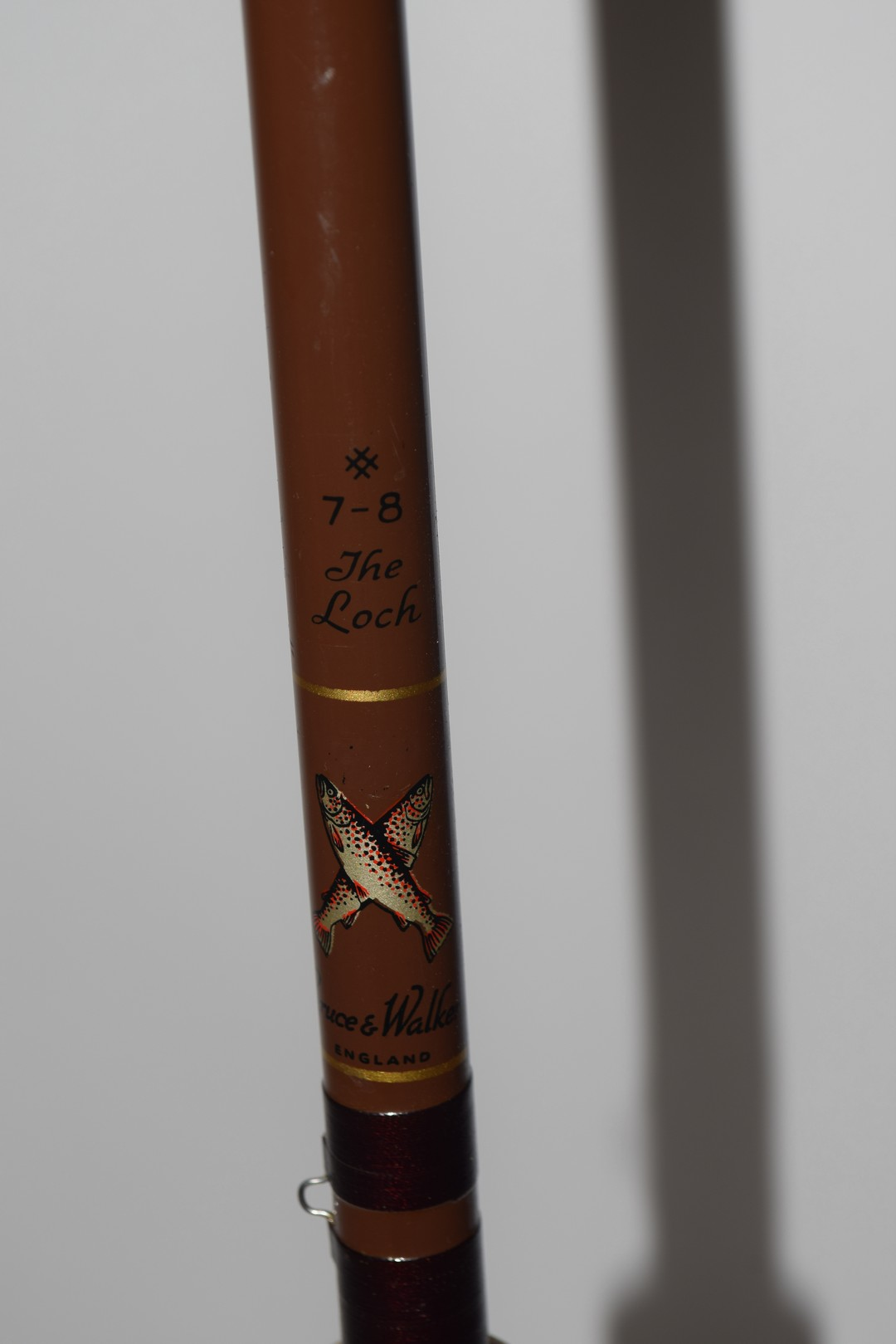 Bruce & Walker, England, vintage fly fishing rod 'The Loch' - Image 2 of 6