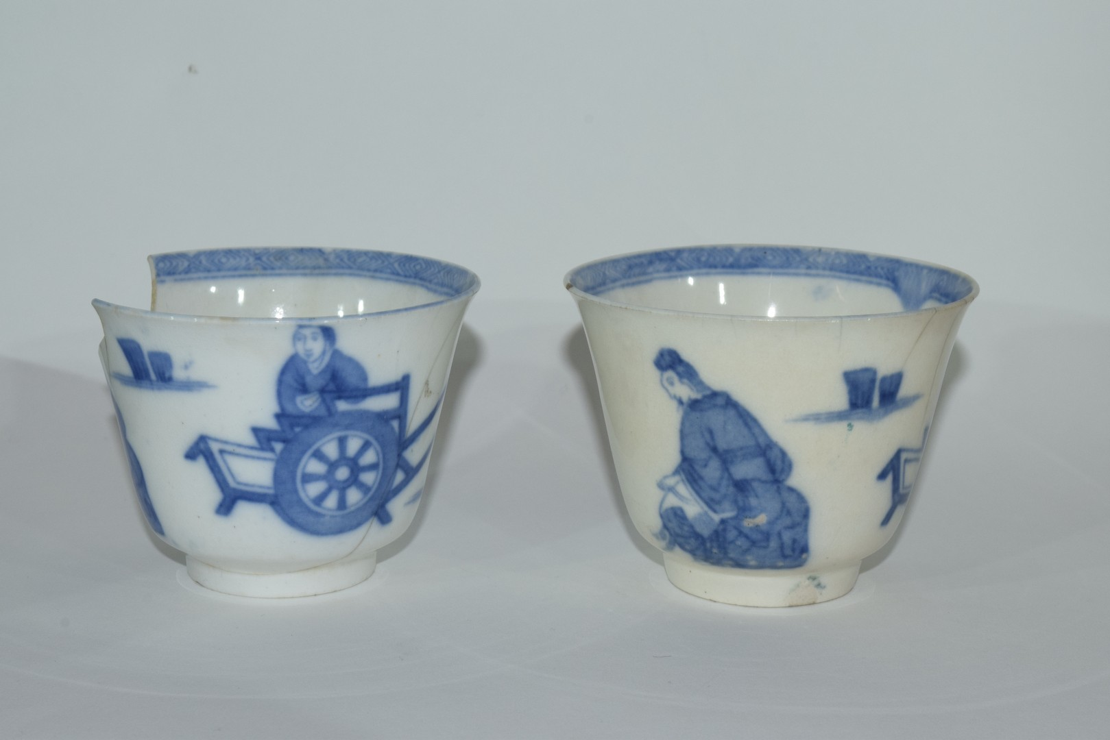 Group of Chinese export porcelain plates - Image 6 of 15