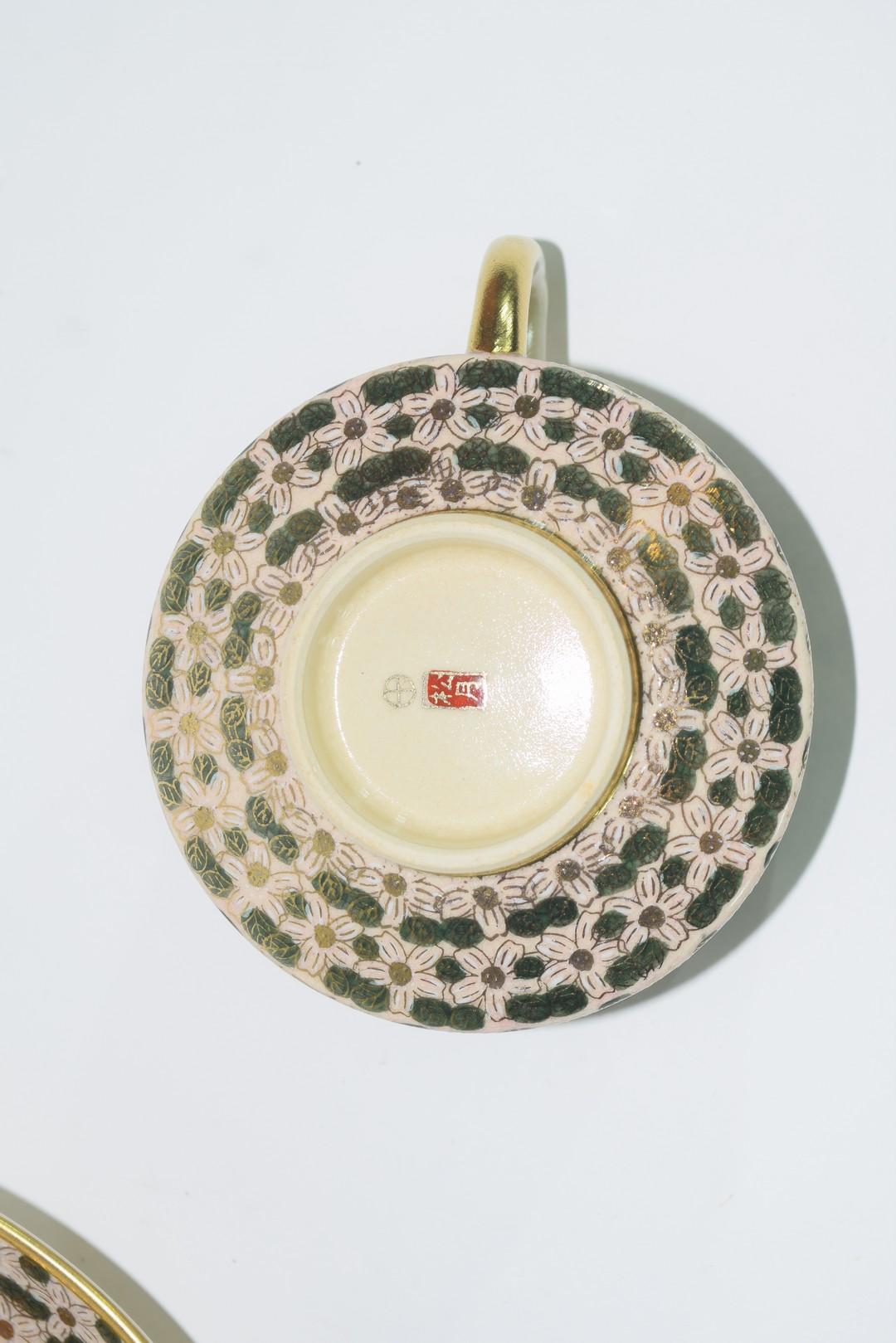 Twelve piece Satsuma tea set - Image 4 of 7