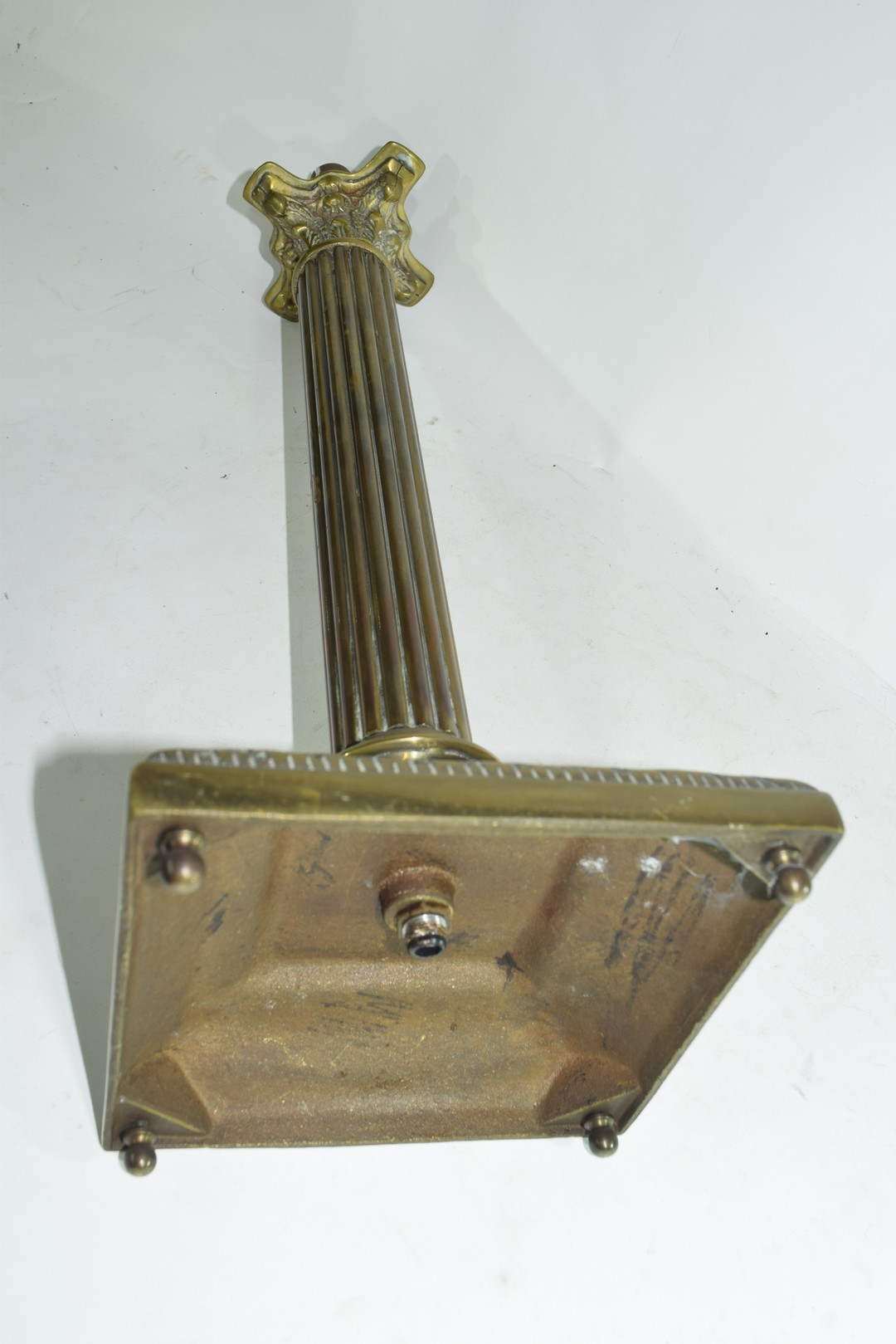Brass table lamp - Image 4 of 4