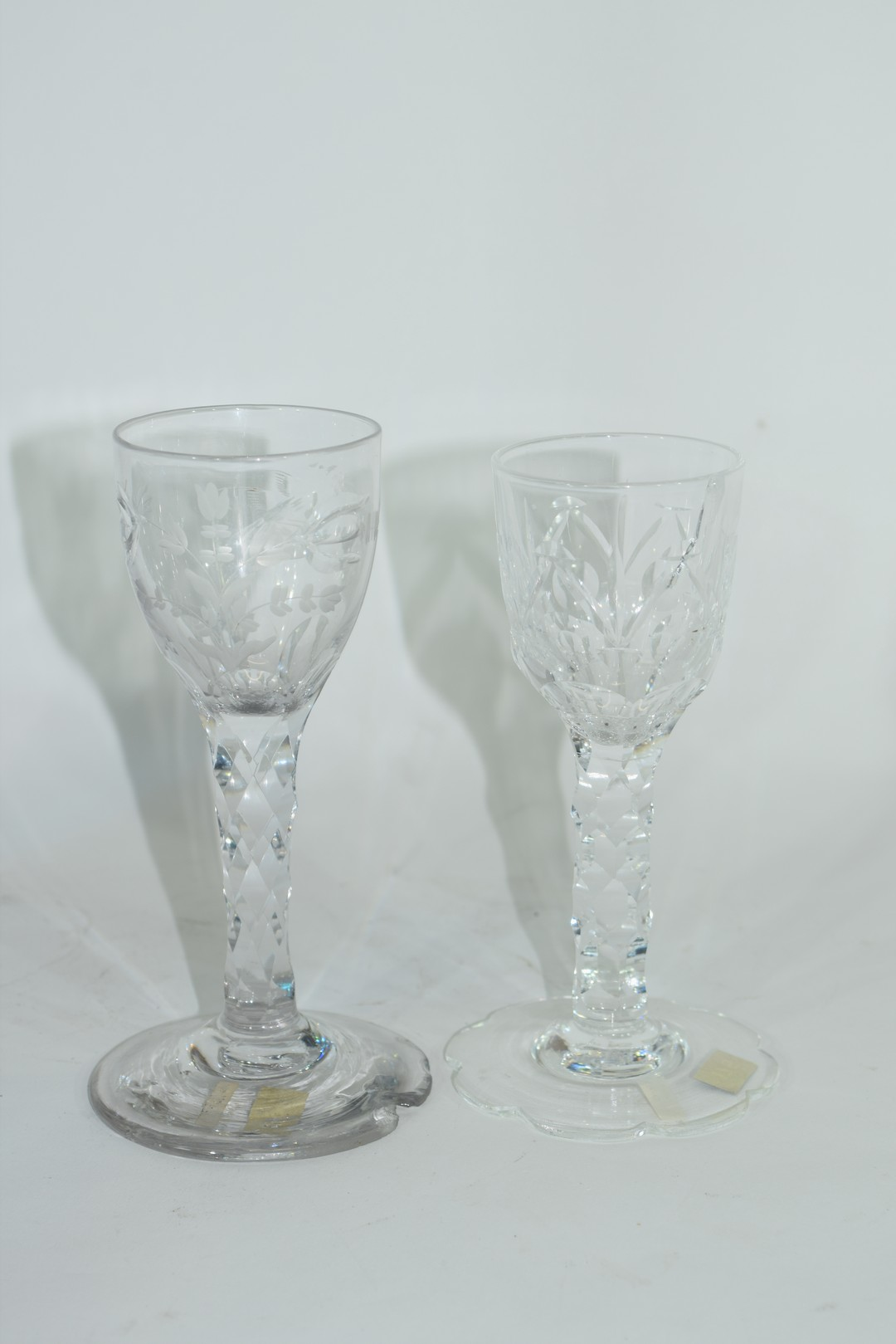 Two cordial glasses - Image 3 of 5