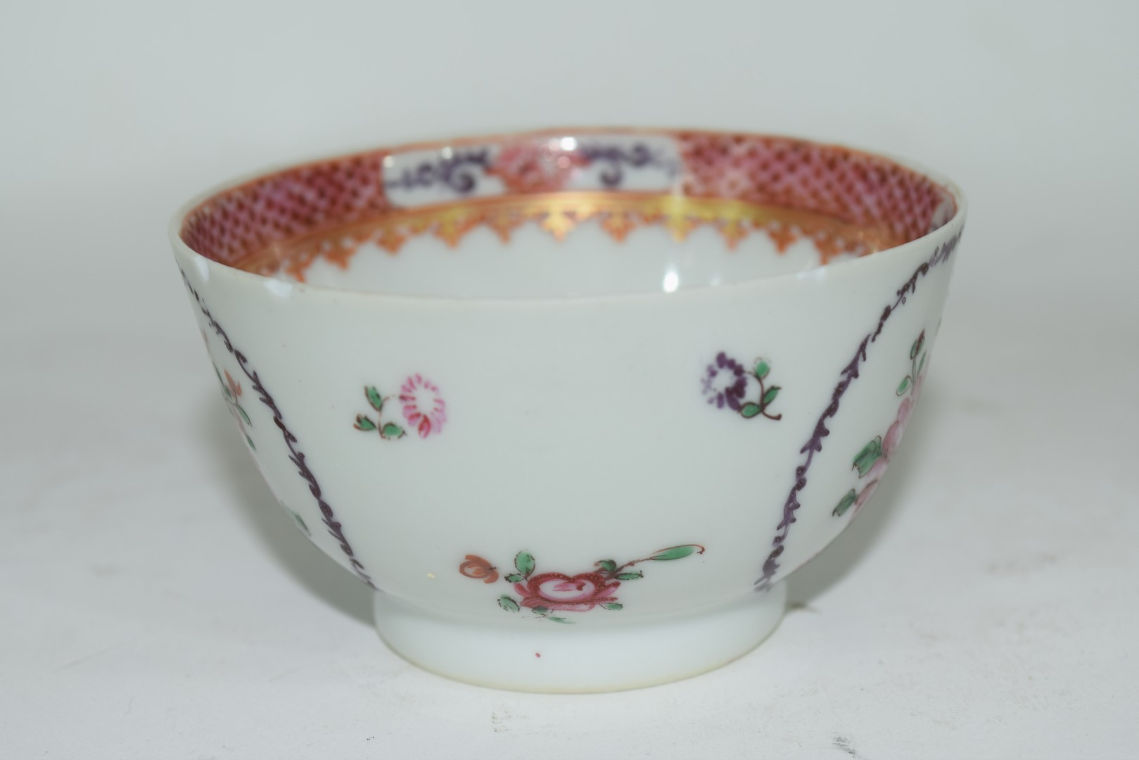 Continental porcelain cup and saucer decorated in Meissen style - Image 2 of 6