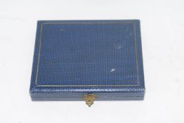 Boxed set of two gilt boxes