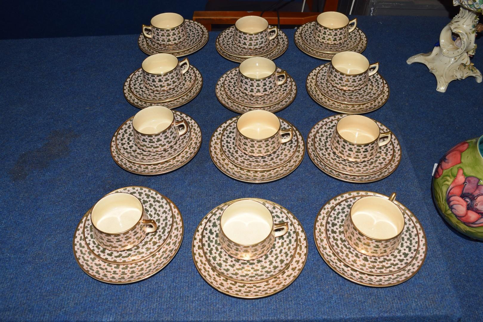 Twelve piece Satsuma tea set - Image 7 of 7