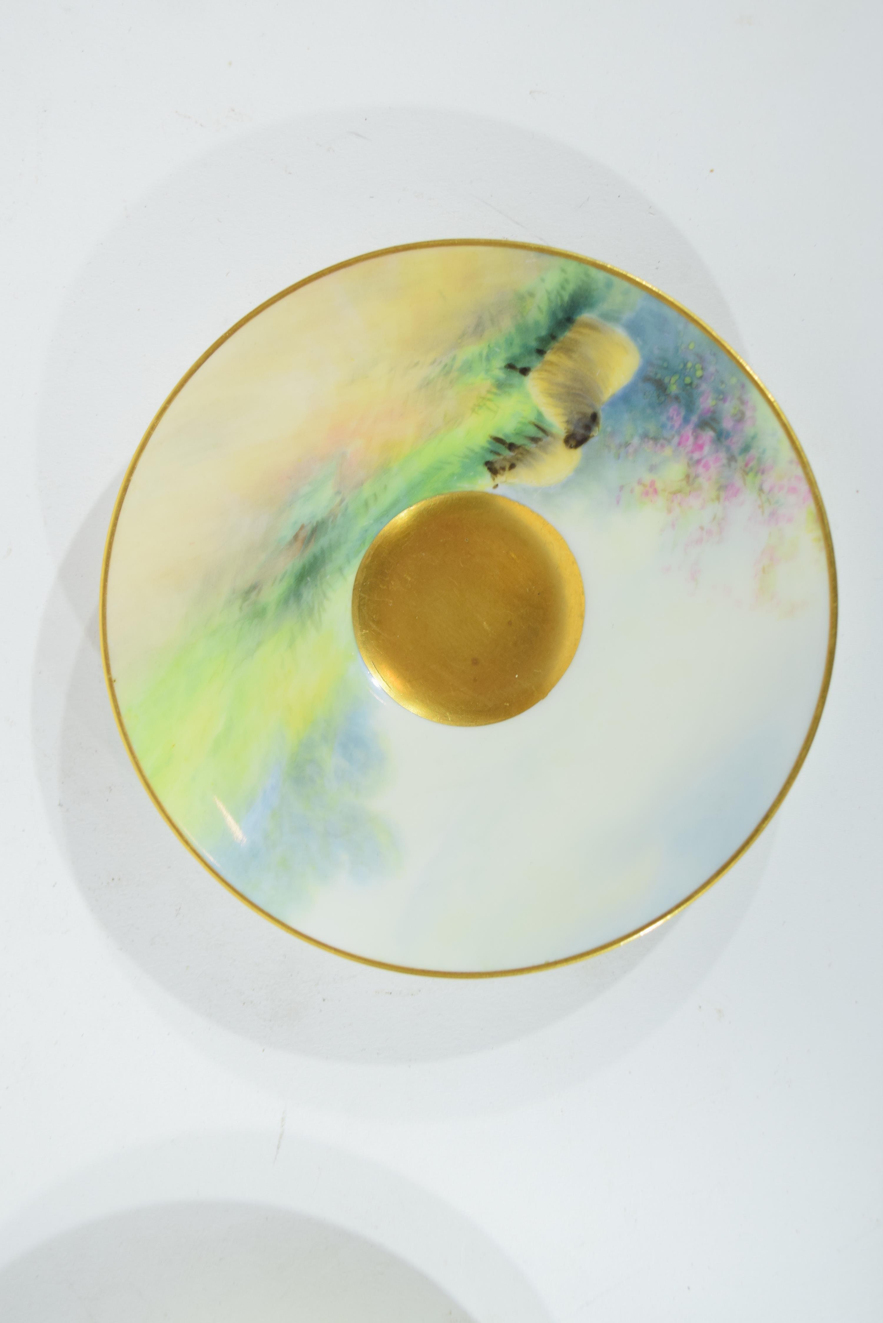 Two Royal Worcester saucers - Image 9 of 9