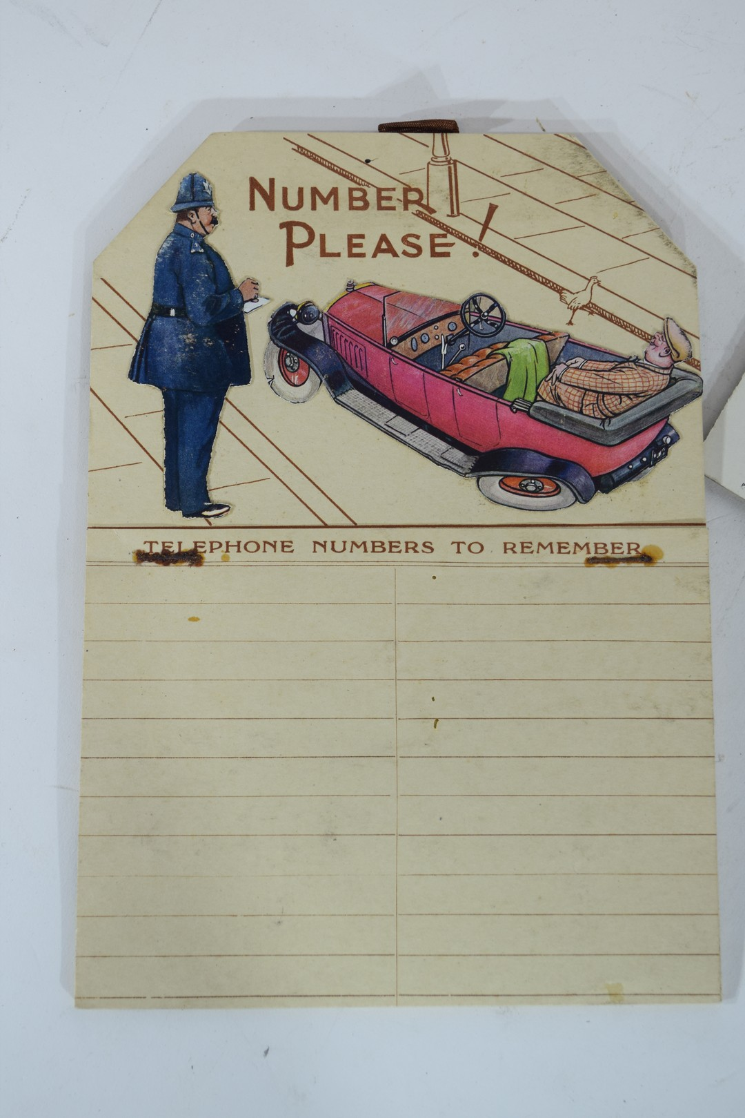 Two 1930s calendars - Image 2 of 4