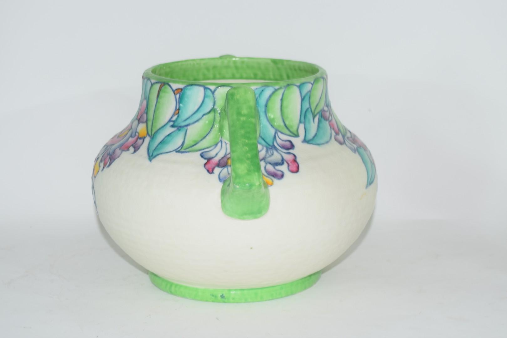 Charlotte Rhead vase pattern no 4954 - Image 4 of 6