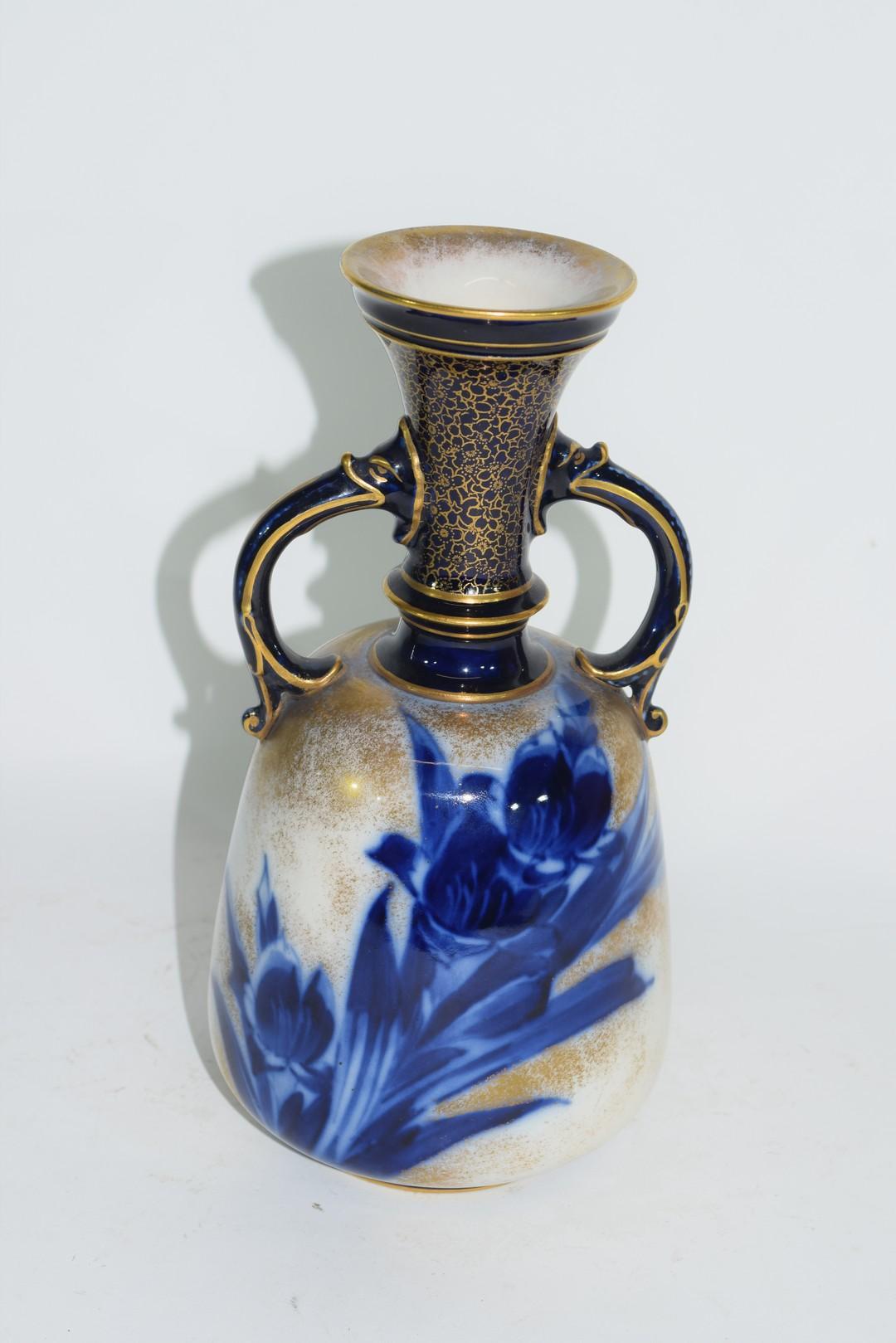 Late 19th century Doulton Burslem ware vase - Image 3 of 6