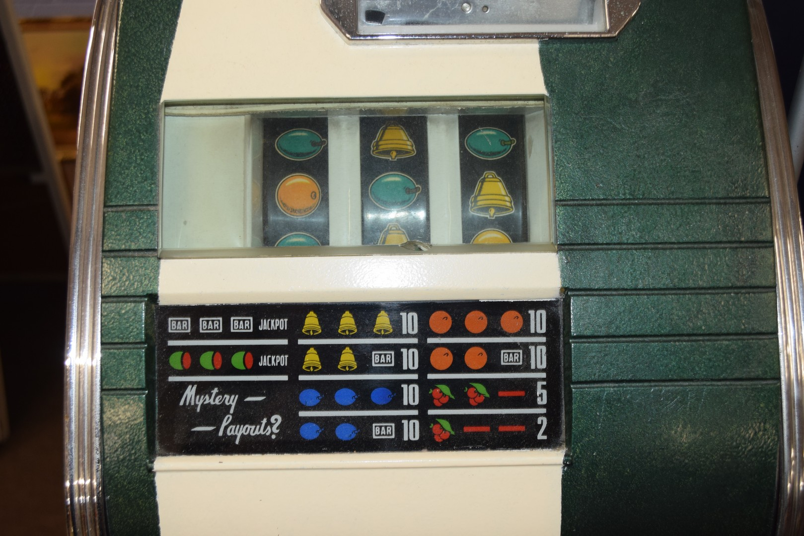 Bonus Star by Sega one-armed bandit fruit machine with electric light-up, approx 80cm high, together - Image 11 of 11