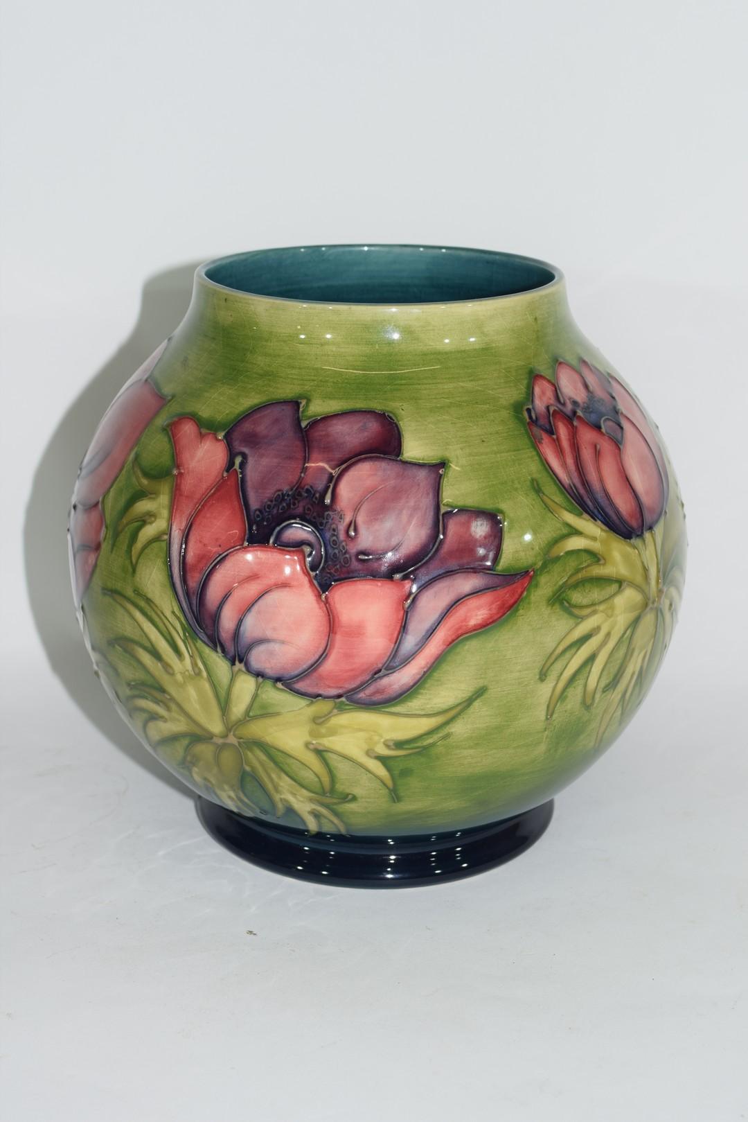 Globular Moorcroft vase - Image 3 of 8