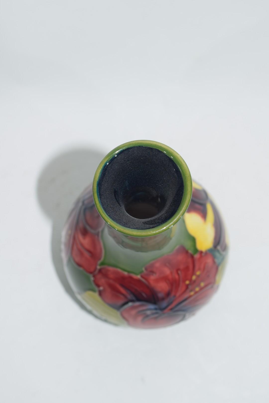 Modern Moorcroft vase - Image 5 of 6