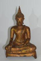 Metal figure of a Buddha