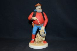 Boxed Robert Harrop Figure, Desp. Dan One man & his dog, year 1997, Ref BDS08