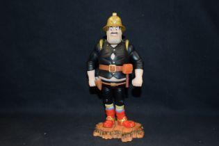 Boxed Robert Harrop Figure, Fireman Dan, year 2004, Ref BDS11