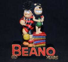 Boxed Robert Harrop Figure, Beano Six O (60 yr), year 1998, Ref BDLE98