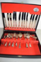 COOPER LUDLAM CANTEEN OF SILVER PLATED CUTLERY