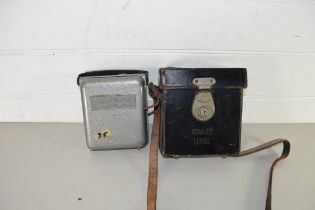LEATHER CASED COWLEY LEVEL