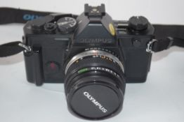 Olympus OM-2 with a Zuiko auto-5 50mm lens