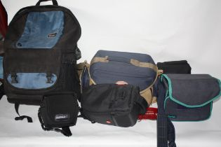 Collection of camera bags