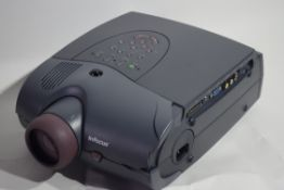 Infocus LP755 digital projector together with leads and case