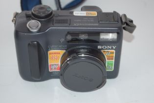 Sony MPEG movie EX DSC-S85 together with leads and case